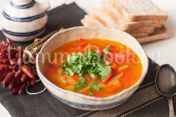 Суп с болгарским перцем - шаг 10