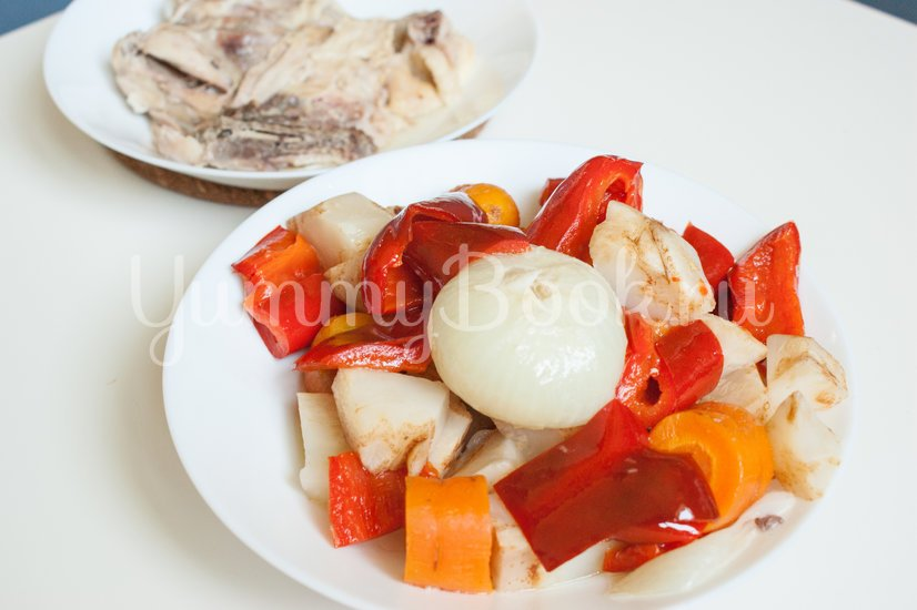 Чорба - румынский суп - шаг 5