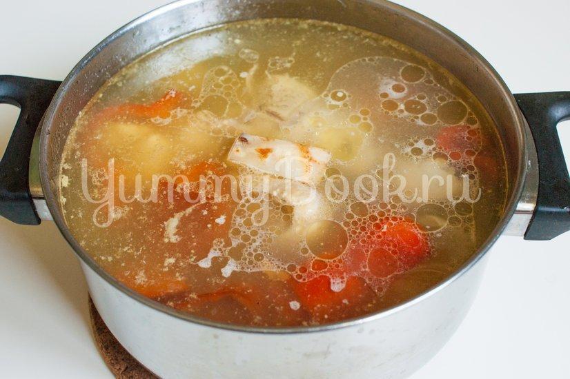 Чорба - румынский суп - шаг 3