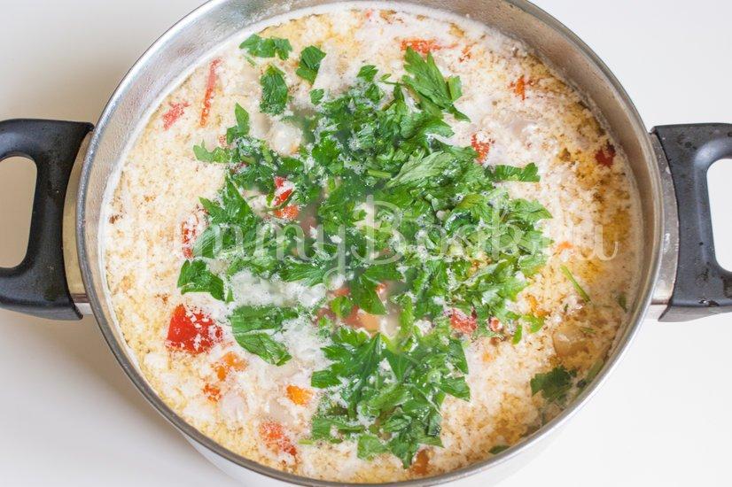 Чорба - румынский суп - шаг 10