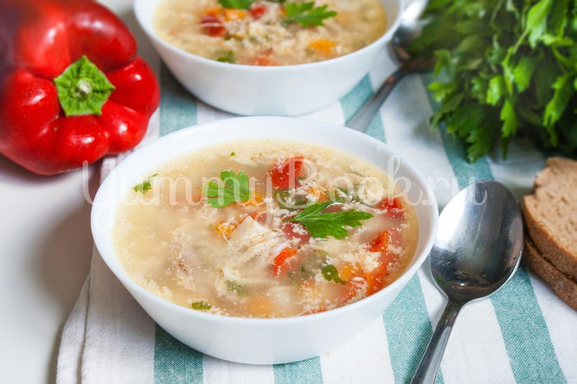 Чорба - румынский суп - шаг 11