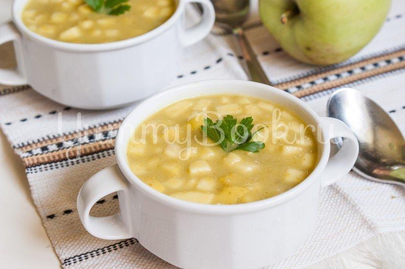 Кабачковый суп-пюре с яблоком - шаг 10