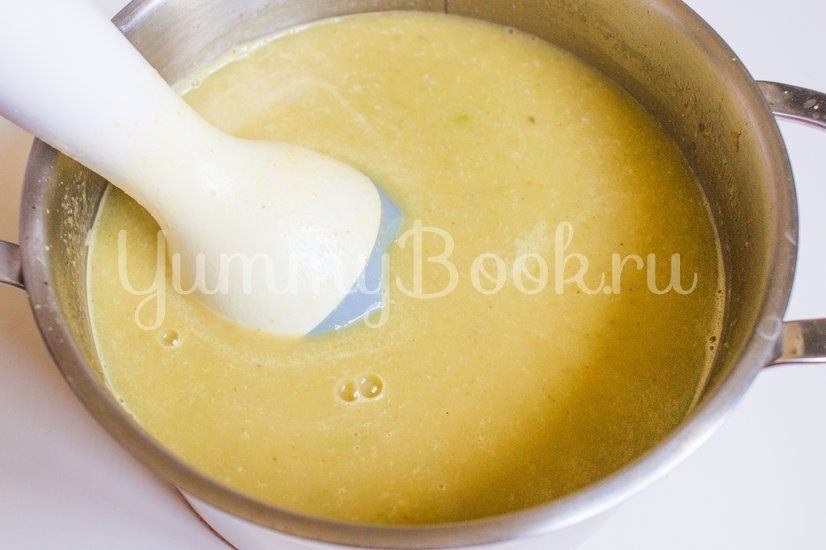 Кабачковый суп-пюре с яблоком - шаг 7