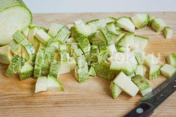 Кабачковый суп-пюре с яблоком - шаг 2