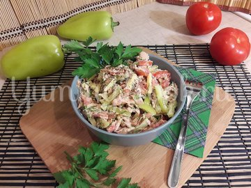 Салат с тунцом и сыром - шаг 5