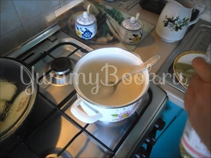 Холодная закуска «Маринованные баклажаны»  - шаг 2