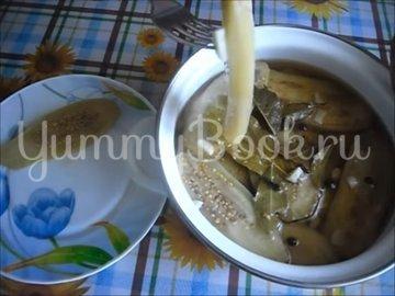 Холодная закуска «Маринованные баклажаны»  - шаг 4