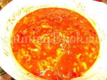 Закуска-маринад универсальная для жареной рыбы и фрикаделек - шаг 11