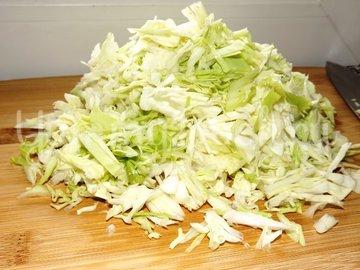 Капустный салат - шаг 2