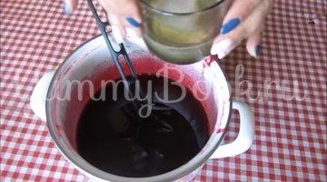 Суфле из ягод ежевики со сгущённым молоком - шаг 4