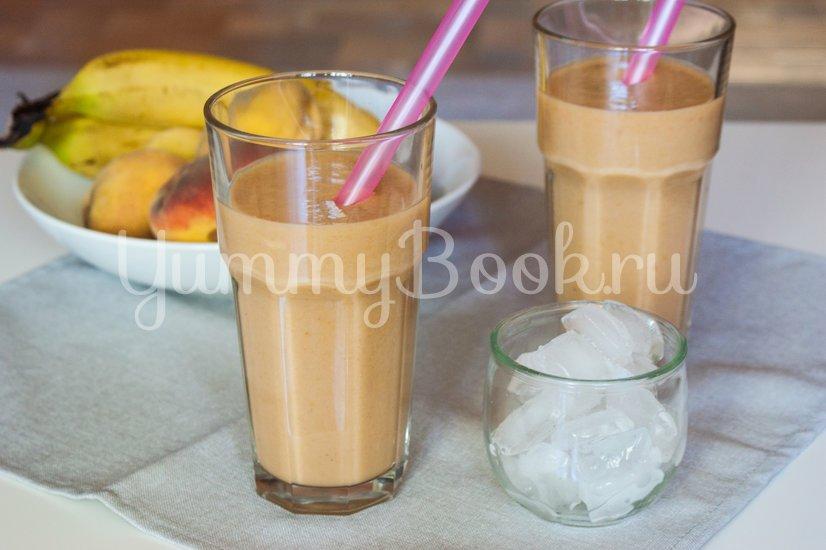 Бананово-персиковый смузи - шаг 4