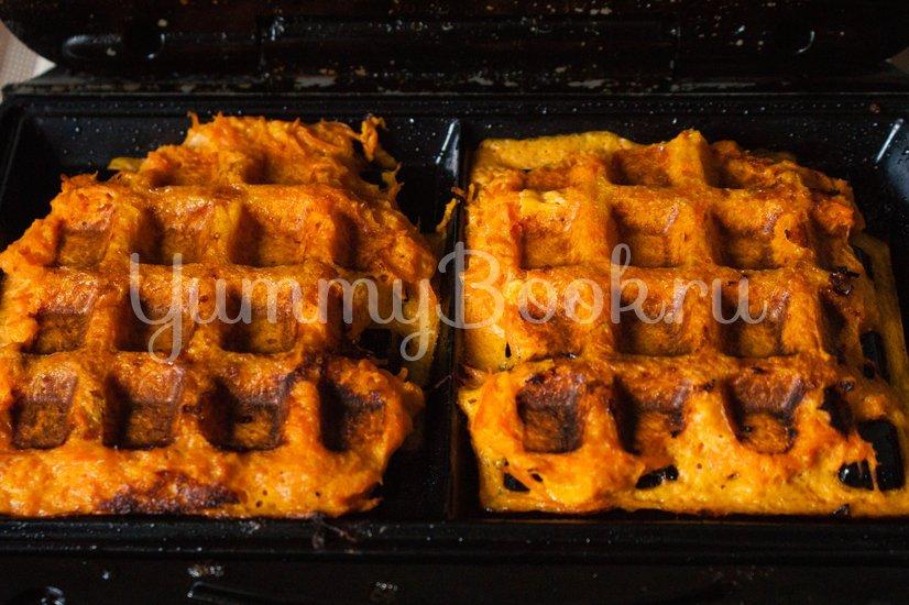 Морковные вафли - шаг 5