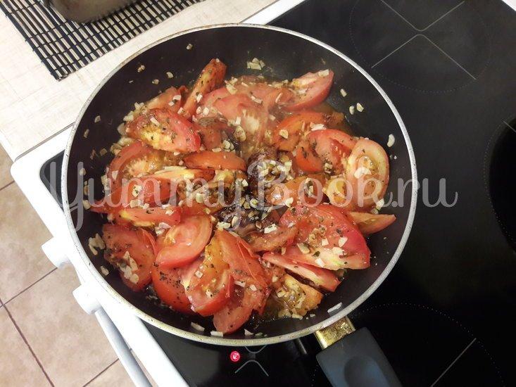 Свинина, запечённая с помидорами и чесноком - шаг 7