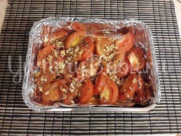 Свинина, запечённая с помидорами и чесноком - шаг 9