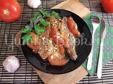 Свинина, запечённая с помидорами и чесноком - шаг 11