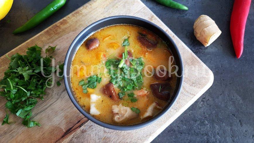 Тайский суп Том-Ям - шаг 9