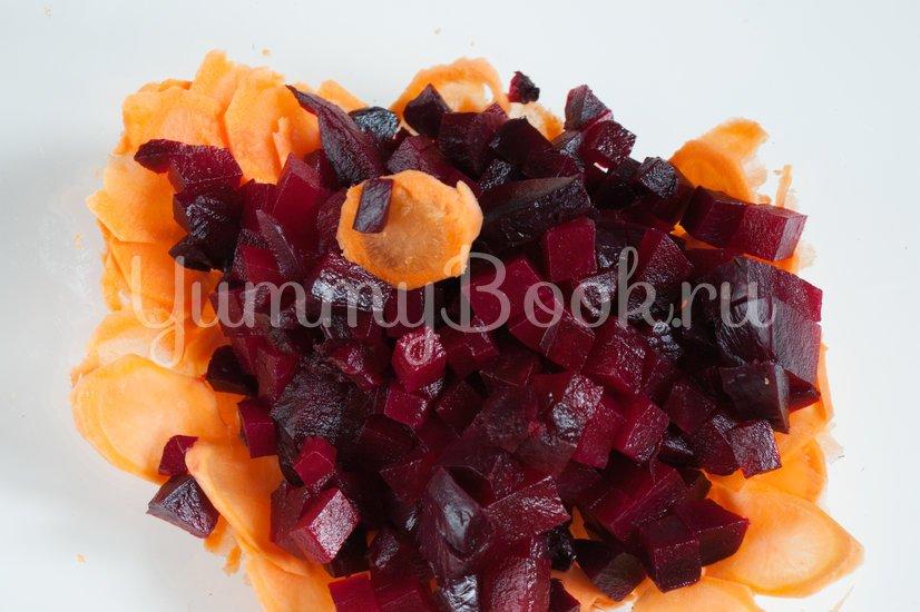 Салат со свеклой, кукурузой и морковью - шаг 2