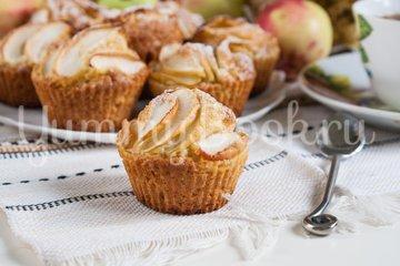 Кексы с яблоками - шаг 11