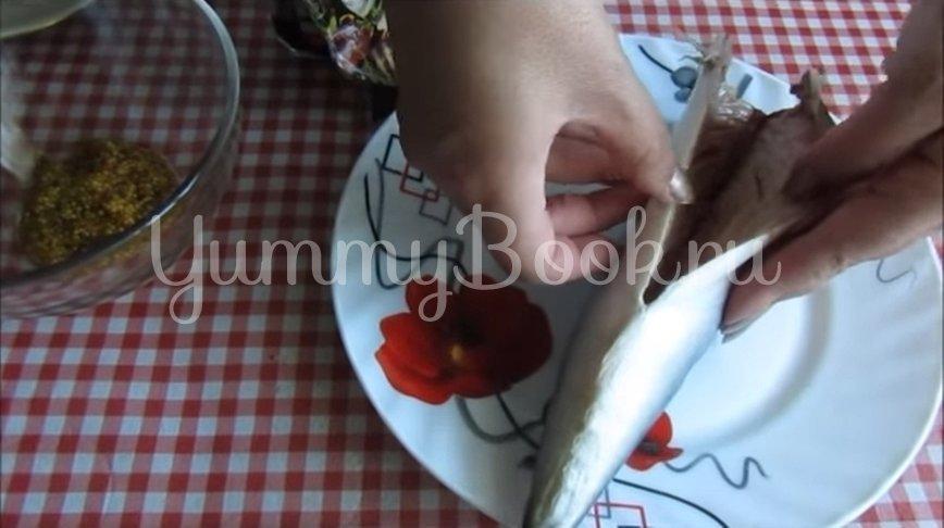 Скумбрия, запеченная в горчичном маринаде - шаг 2