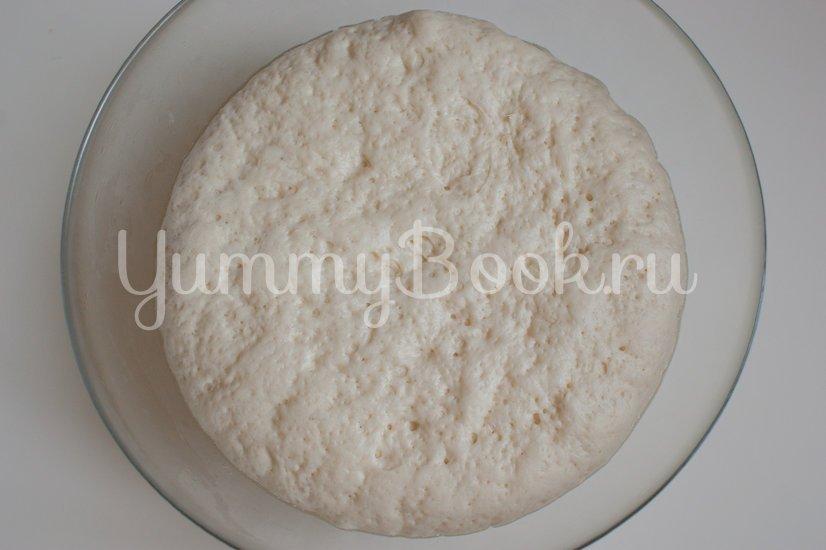 Простой пшеничный хлеб - шаг 3