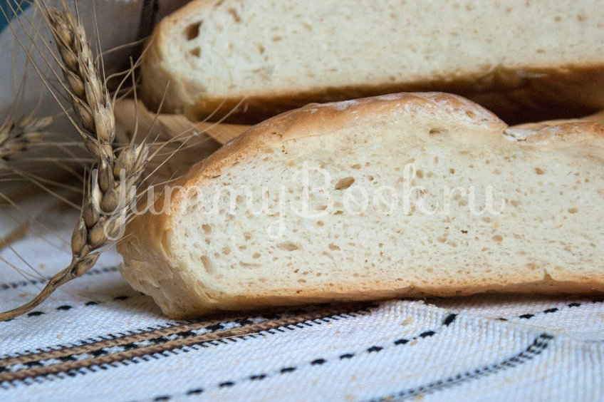 Простой пшеничный хлеб