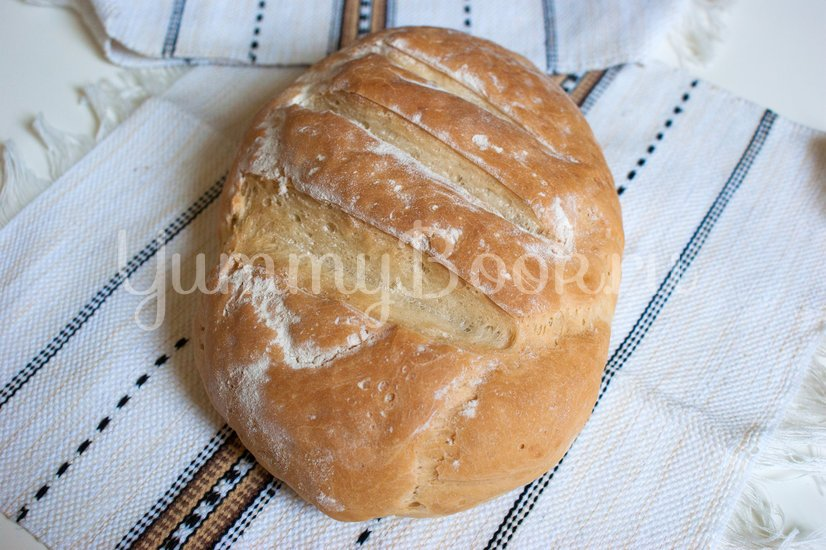 Простой пшеничный хлеб - шаг 6