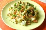 Салат «Отведай» с цветной капустой