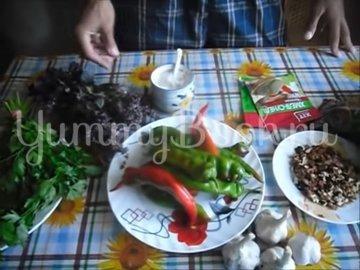 Аджика по-грузински (абхазская аджика, сухая аджика) - шаг 1