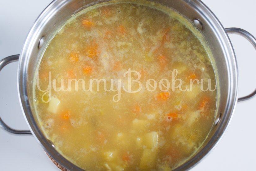 Постный суп с овсяными хлопьями - шаг 2