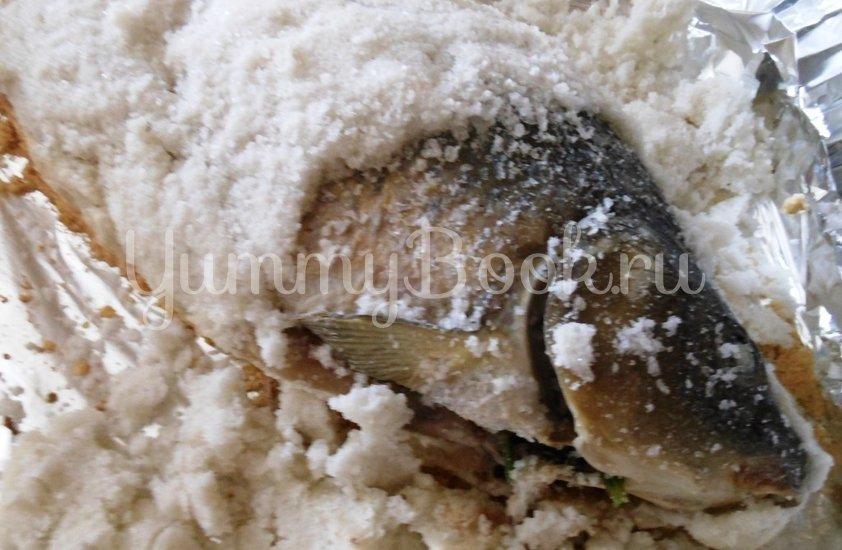Карп в соляной корке - шаг 12