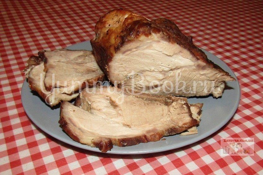 Свиной ошеек в пряном маринаде