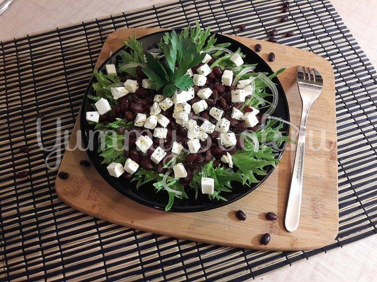 Салат с фасолью и фетой - шаг 6