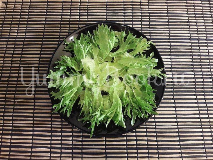 Салат с фасолью и фетой - шаг 2