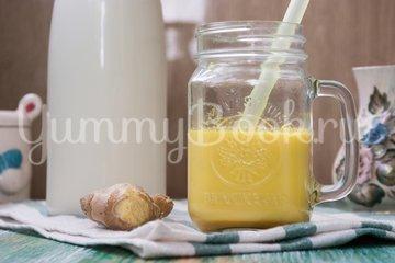 Молочный напиток с имбирём и куркумой - шаг 3