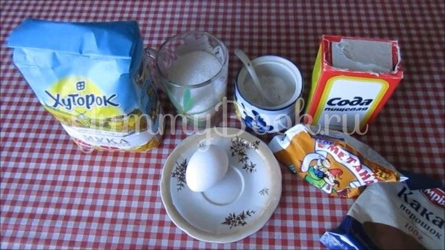 Мягкое домашнее печенье на сметане  - шаг 1