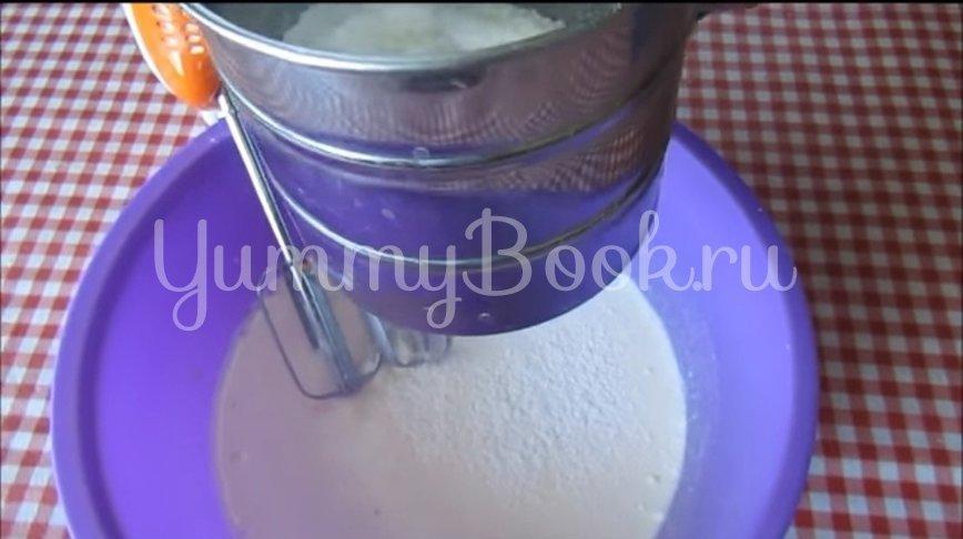 Мягкое домашнее печенье на сметане  - шаг 3