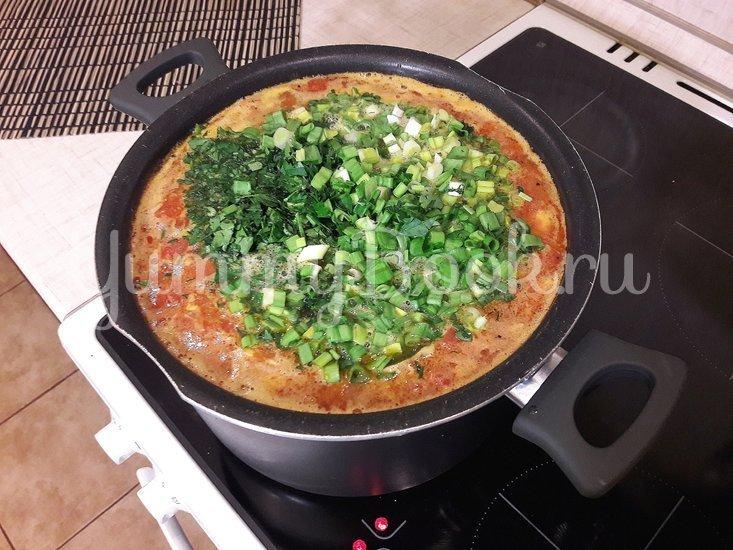 Гороховый суп с двумя видами мяса и помидорами - шаг 12