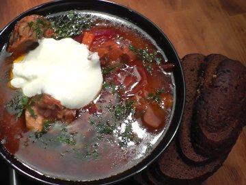Борщ рецепт Borschtsch Rezept