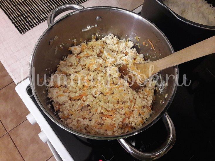 Болгарские перцы, фаршированные начинкой с фетой - шаг 5