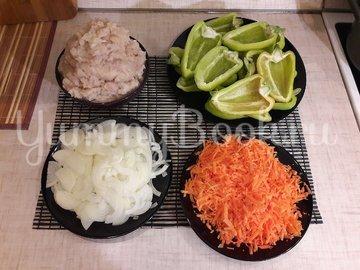 Болгарские перцы, фаршированные начинкой с фетой - шаг 2