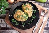 Болгарские перцы, фаршированные начинкой с фетой