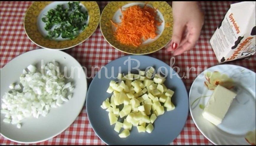 Сливочный суп с курицей - шаг 3