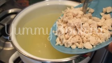 Сливочный суп с курицей - шаг 5