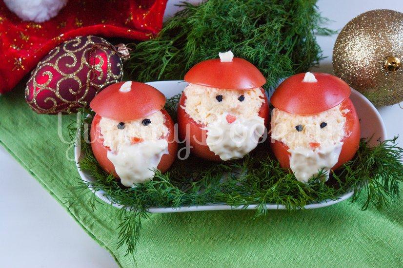 """Новогодняя закуска """"Дед Мороз"""" - шаг 6"""
