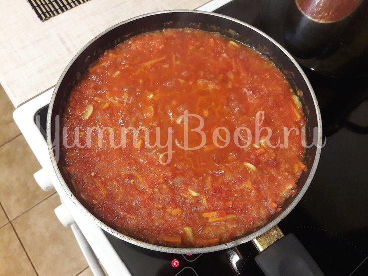 """""""Тройной"""" томатный суп с куриными фрикадельками - шаг 10"""