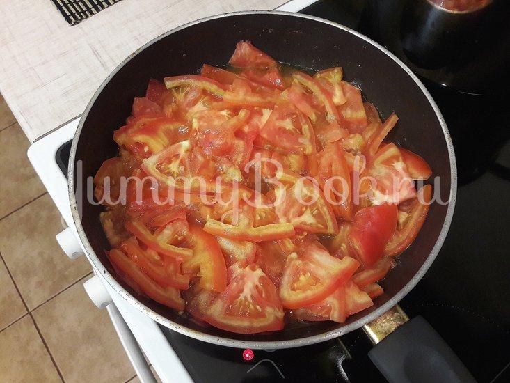 """""""Тройной"""" томатный суп с куриными фрикадельками - шаг 12"""