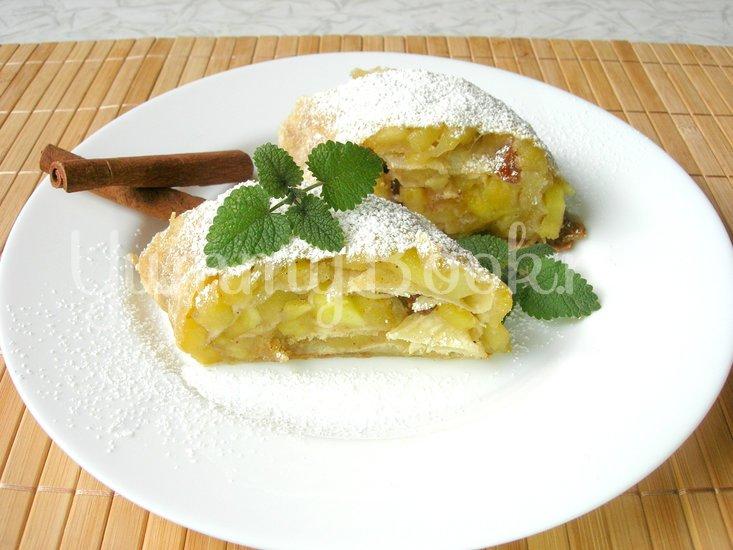 Яблочный штрудель без возни с тестом - шаг 6