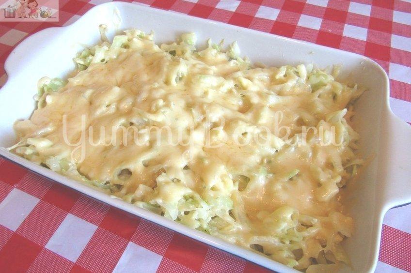 Запечённая капуста «Нежная» с яйцами и сыром