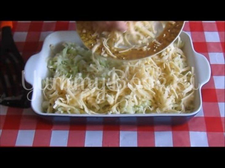 Запечённая капуста «Нежная» с яйцами и сыром - шаг 7