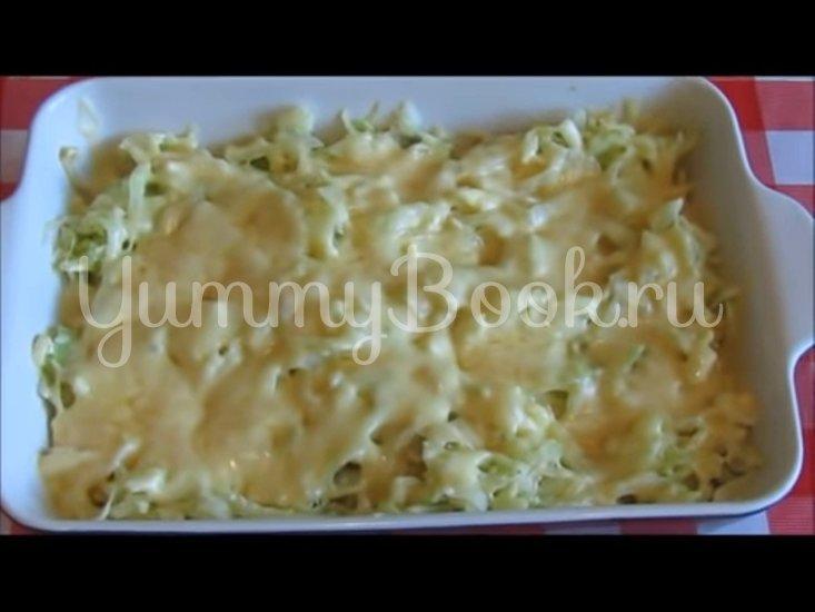 Запечённая капуста «Нежная» с яйцами и сыром - шаг 8